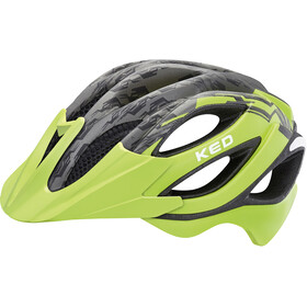 KED Paganini Visor Helmet green black matt